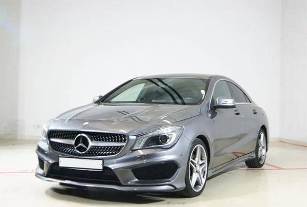 Mercedes-Benz CLA I (C117, X117) 200